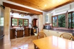 Die Küche auf der Finca Mallorca Ca´n BIni