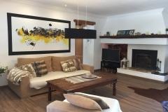 Das Wohnzimmer von der anderen Seite der Finca Mallorca Ca´n Bini