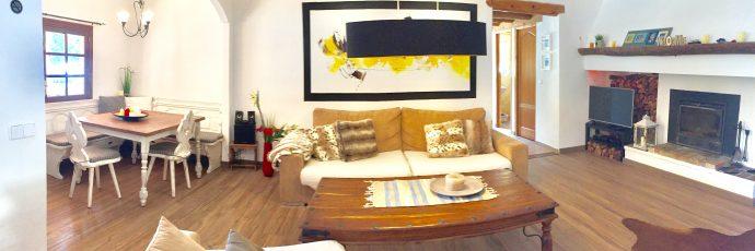 Grandios gemütlich: Das Wohnzimmer!